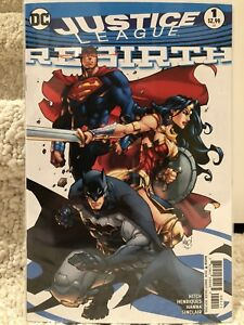 Justice League Rebirth One Shot Variant #1