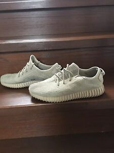 Worn replica Yeezys size 12
