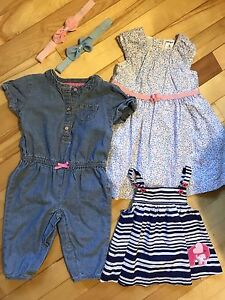 Baby girls 3-6 months outfits