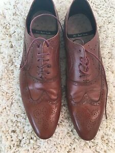 Paul smith men's brown dress shoes-UK size 11