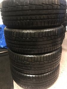 205/55/16 nokian winter tires 80%