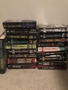 Michael Connelly & John Grisham Book Lot