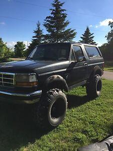 1995 Eddie Bauer Ford Bronco