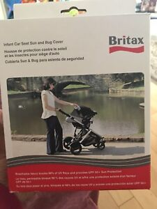 Britax Infant Bug and Sun Cover & Head and Body Support Pillow