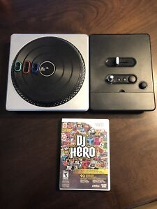 Wii DJ HERO with game