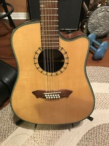 Washburn 12 String,  Acoustic/Electric Mint Condition