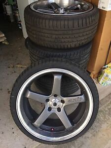 """19"""" 5x114.3 Axis 5 Spoke Rims FOR SALE Ryde Ryde Area Preview"""