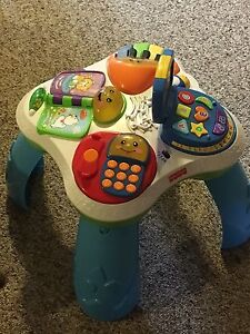 Fisher Price play table for kid