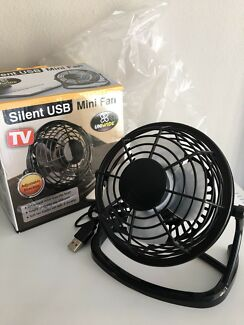 USB mini fan+ desktop computer speaker