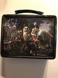 Nightmare Before Christmas lunch box