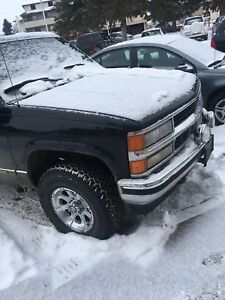 Trade 96 Chevy for utility trailer