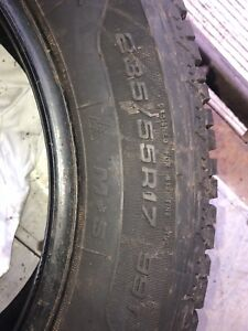 Winter tire sets