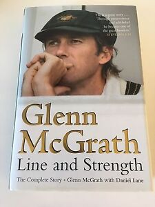 Glenn McGrath signed autobiography Highland Park Gold Coast City Preview