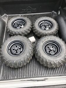 Set of 4 Maxxis ATV tires(Brand new)