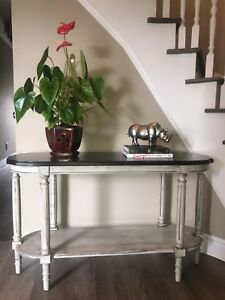 Gorgeous, refinished Antique sofa table