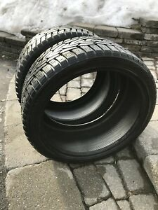2 Nokian winter tires 255/35/R18