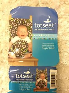 Totseat, The washable squashable highchair, New, never used