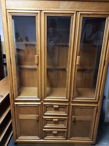 Hutch display cabinet buffet vaisselier kitchen dining delivery