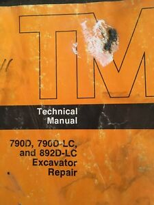 Heavy equipment manuals