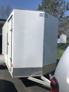 Ez hauler Aluminum enclosed trailer 6x12