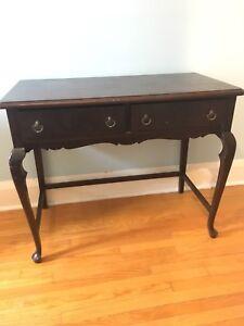 Gorgeous antique wood desk for sale