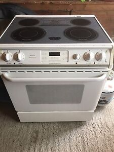 Slide in convection oven stove