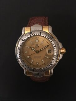 TAG Heuer 18K Solid Gold/SS 35mm Watch