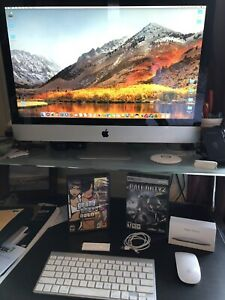 "Apple iMac 27"" Computer - Magic Mouse, Keyboard, Apps, Games..."