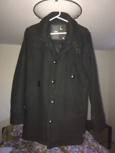 G-star wool trench coat