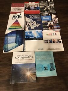 Lot of textbooks