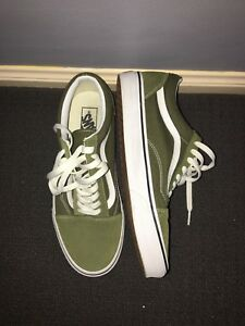0a0d68d79f Vans Old Skool - Green  47 White