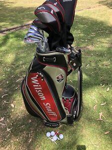 Golf Clubs RH Men's Wilson Staff Bag