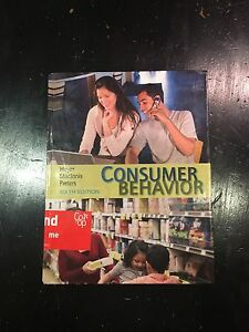 Consumer Behaviour by Hoyer MacInnis and Pieters 6th Ed. Marrickville Marrickville Area Preview