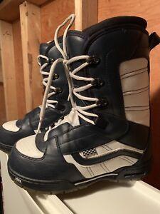 Vans snowboard boots men's size 9