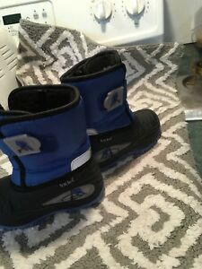 Light up snow boots