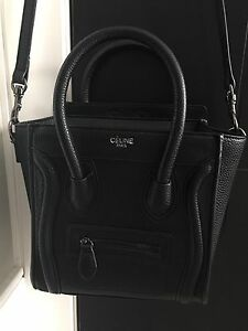 Celine Nano Luggage - Black