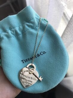Wanted: Tiffany and Co- Return to Tiffany Heart Key Pendant and Necklace