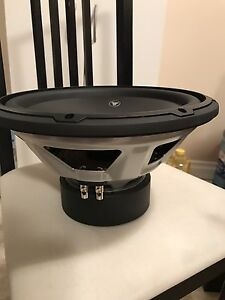 "1 NEW - 12"" JL Audio W3 Subwoofer 2000 Watts !!"