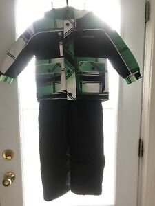 Winter jacket with snow pant size 4