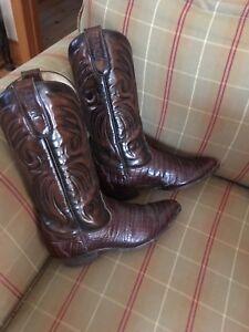 Bottes de cowboy de marque Sancho gr: 6