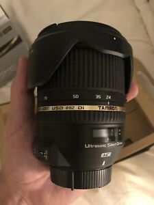 Tamron 24 -70 2.8 lens for Nikon. As new! Bought for $1450