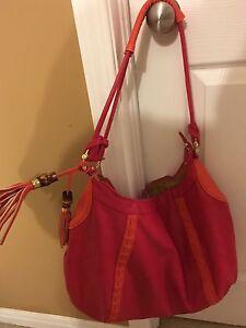 Magenta Big Buddha designer purse