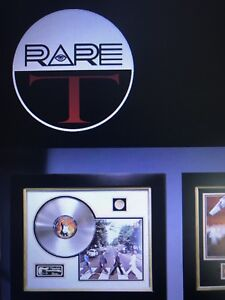 """Credit in  """" RARE T """"  store."""