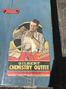 1936 Gilbert chemistry set