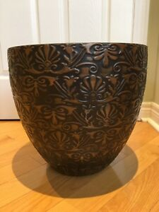 "Brand New 15""W x 14""H Indoor/Outdoor Planter"