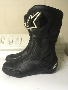 Alpinestars S-MX 6 vented motorcycle boots 42/8