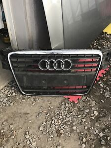Audi hood and grill