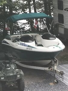 Seadoo Boat and Trailer