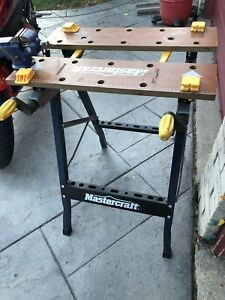 Mastercraft work bench foldable plus VISE for sale