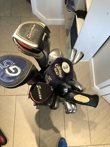 Full Set of LH golf clubs Taylormade/Ping/Titleist/Nike